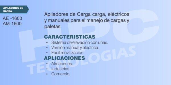 Apilador de carga electrico