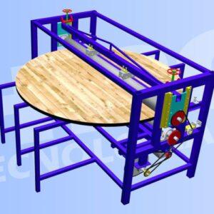 Línea para fabricas carretes de madera para guayas o cables