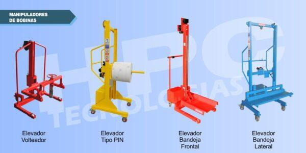 catalogo de elevadores y manipuladores para bobinas hpc tecnologias