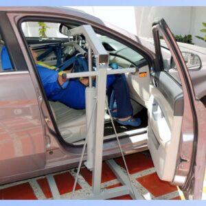 Grua para uso vehiculo personas con discapacidad