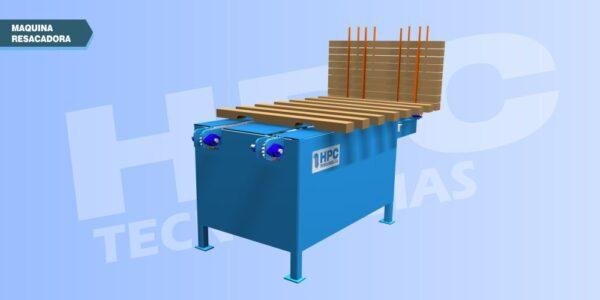 Maquina resacadora de tablas
